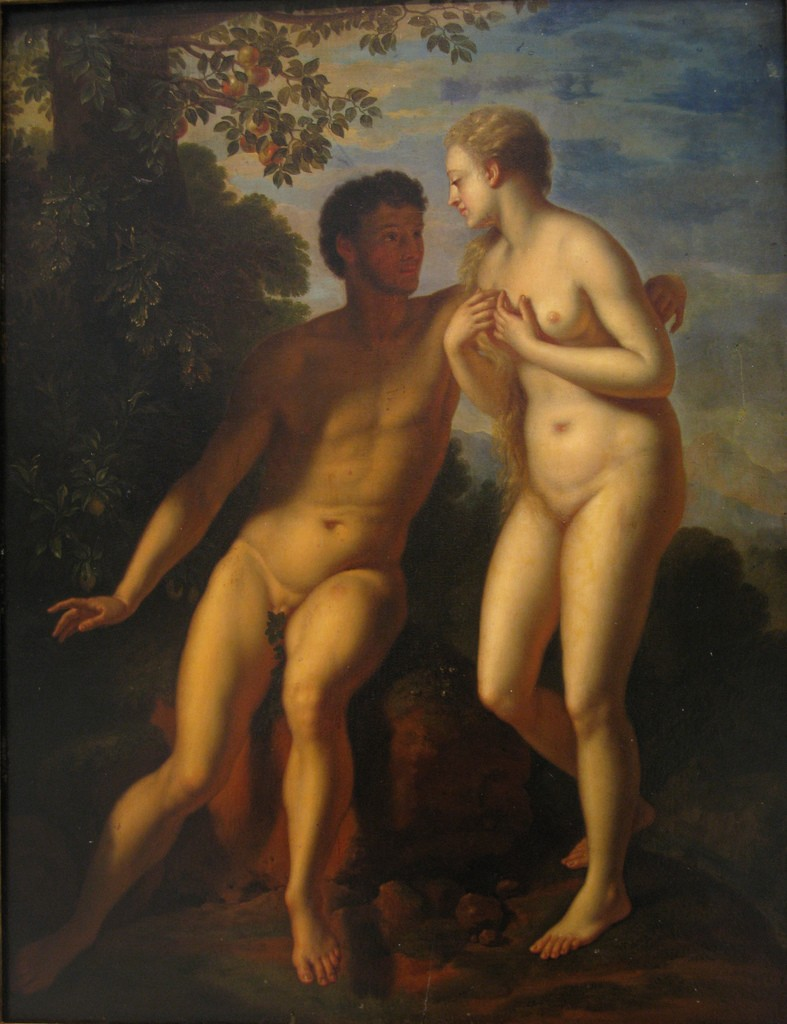 """""""Adam and Eve"""" - Adriaen van der Werff (1659-1722)"""