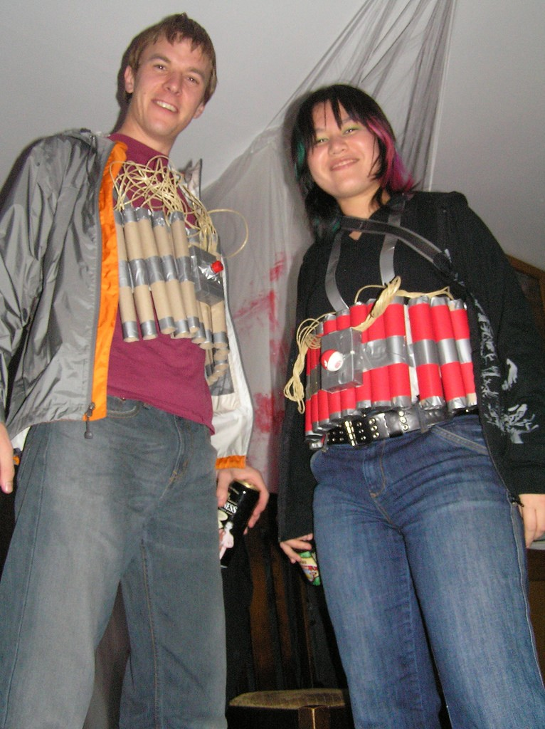 Urban and Narisa as Suicide Bombers