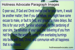 Holiness Advocate Images