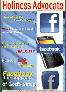 Holiness Advocate Magazine Issue # 2